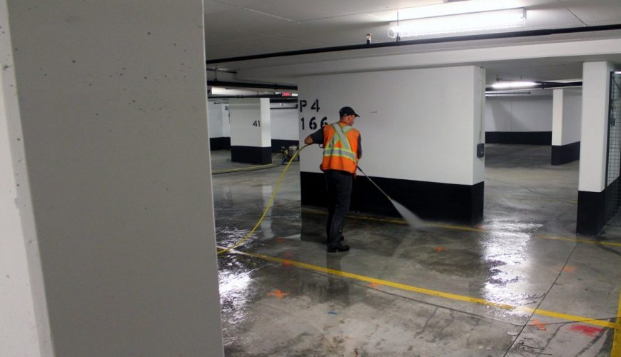 Parking Cleaning service