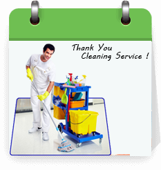 thank you cleaning service