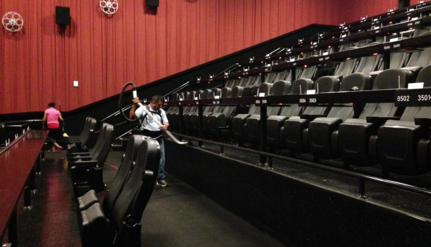 cinema hall cleaning service